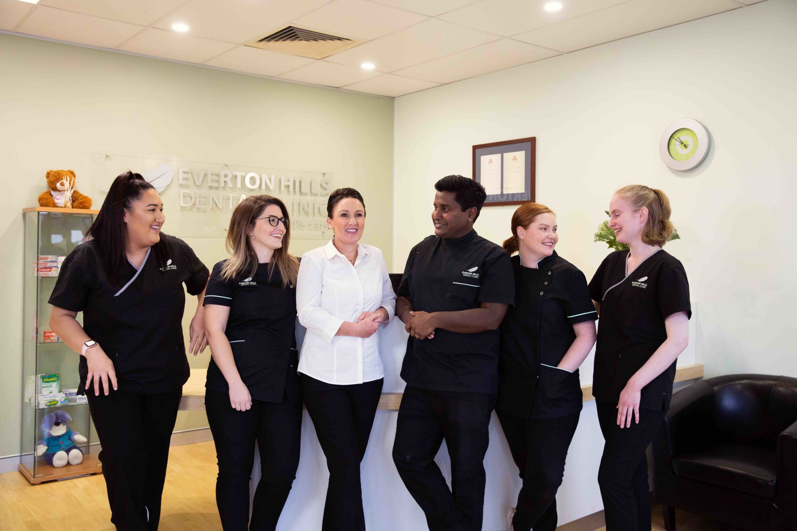 Expert team at Everton Hills Dental Clinic